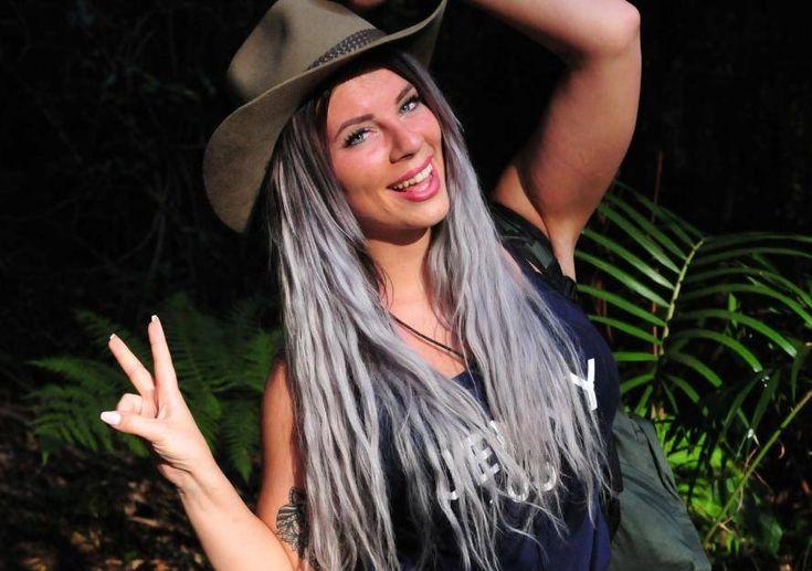 So sehen Sieger aus: Jenny Frankhauser gewinnt das Dschungelcamp 2018.