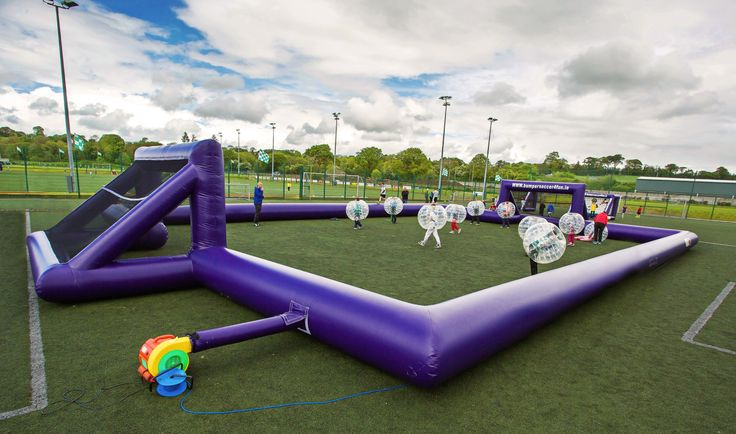 Inflatable pitch http://www.bumpersoccer4fun.ie. Check out photographs, videos and reviews on http://www.facebook.com/bumpersoccer4fun. Ideal for family occasions (communions, confirmations, birthdays), club / school event (family fun day, kids camp, sports day, fundraiser), stag / hen, BBQ...Contact Brian on 087 6593008 (Ireland)