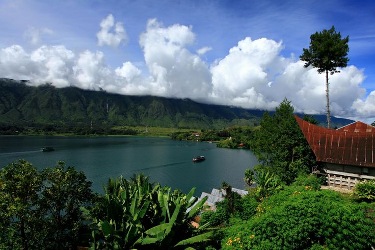the other side of Toba lake, North Sumatera, Indonesia