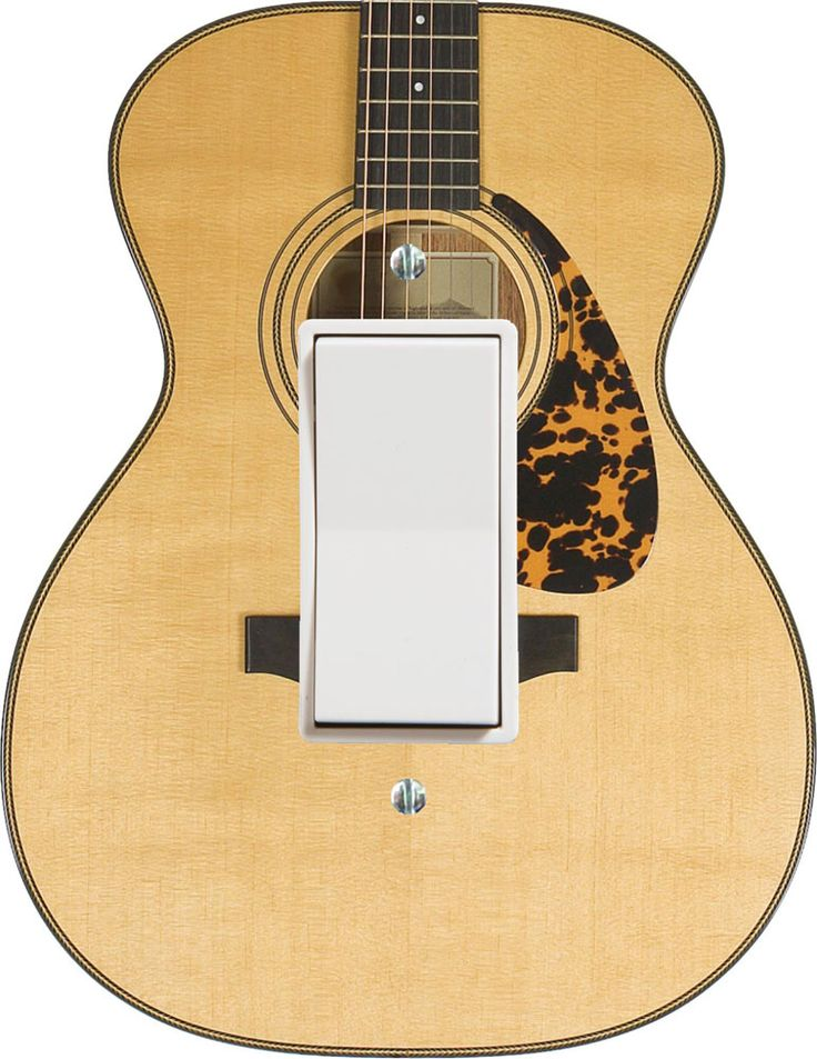 Buy Acoustic Guitar Wall Plate Cover | Music Gift | Music Novelty |  -