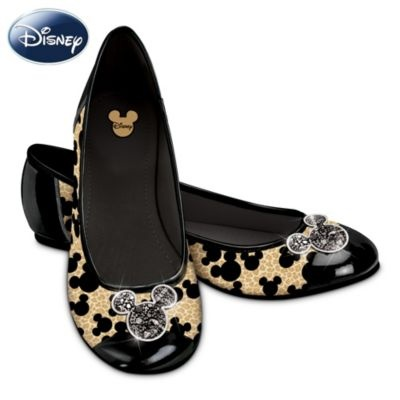 Wild about these Mickey Ballet Flats!