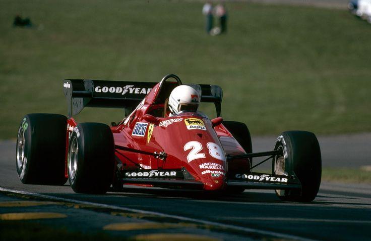brands hatch 1983. rene arnoux. ferrari 126c3 | vintage racing