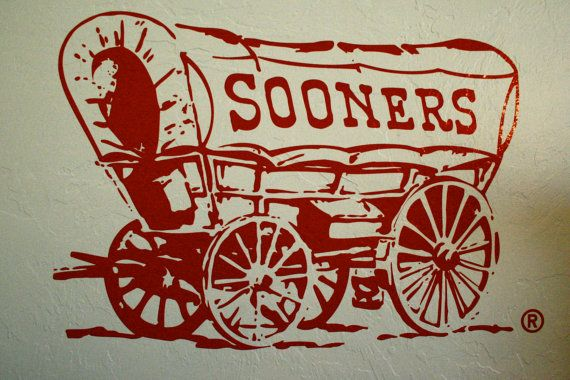 Hey, I found this really awesome Etsy listing at http://www.etsy.com/listing/129608605/ou-sooner-schooner-164-x-24