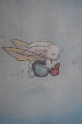 Pookie the rabbit with wings