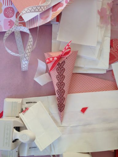 Valentine's Day paper crafting via Martha Stewart. #Love