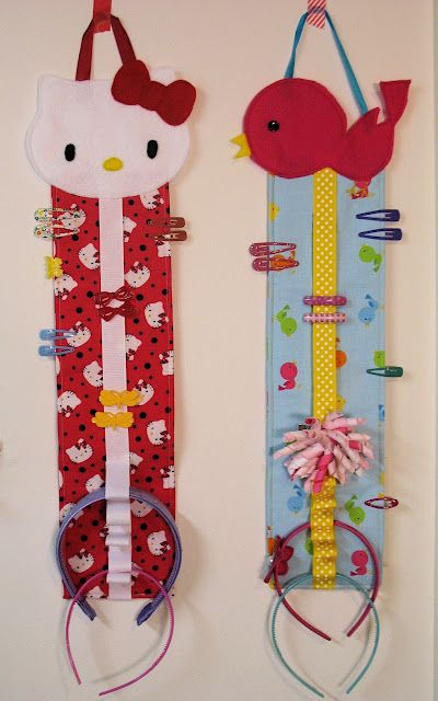 Heartland Happy: Hair Accessories Organizer Tutorial
