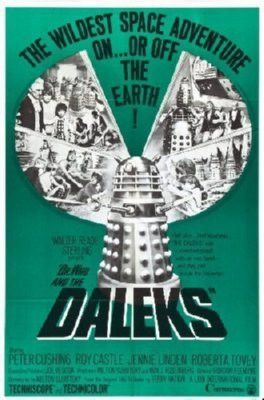 Dr Who And The Daleks Mini Movie Poster 11x17