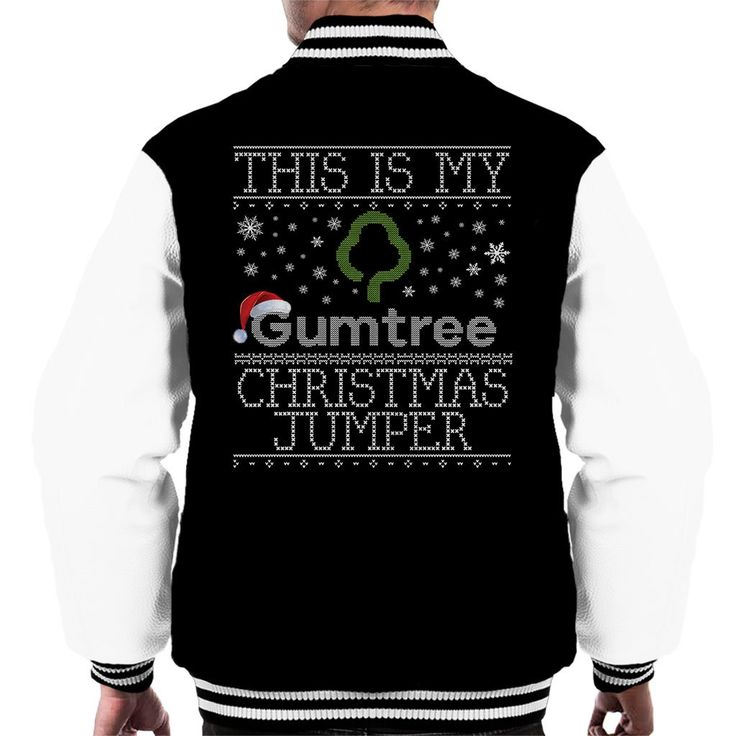 Just added: This Is My Gumtre... Check it out here: http://www.coto7.com/products/this-is-my-gumtree-christmas-jumper-mens-varsity-jacket?utm_campaign=social_autopilot&utm_source=pin&utm_medium=pin