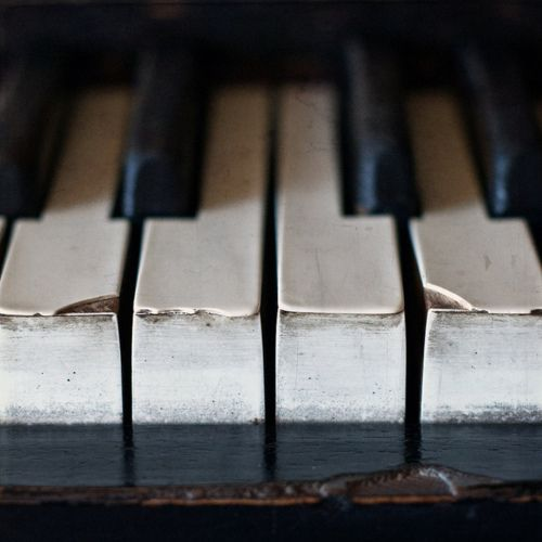 never neglect what soothes your soul. i need a piano wherever i live. i love this pic of the old keys, just like my piano :)