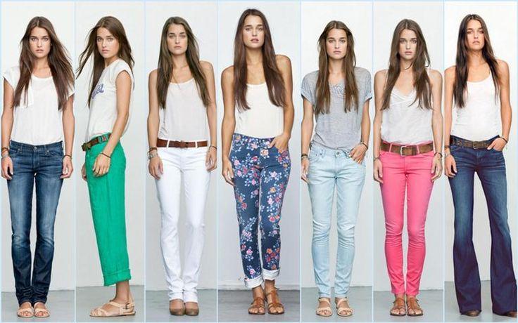 Какие джинсы ноги полные короткие