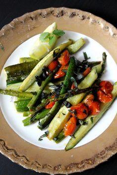 Citromfüves sült zöldségek