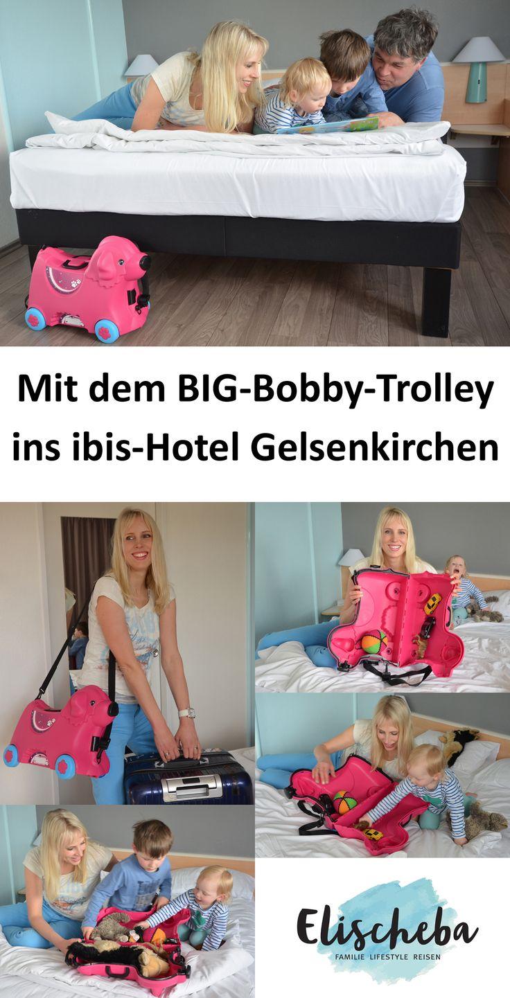 Pressereise und Werbung (PR Sample). Grüße aus dem Ibis Hotel in Gelsenkirchen. #mamablog #ibishotel #ibis #gelsenkirchen #toyfan #toyfanclub #momblogs #momblogger #trolley #bobbycar #hotel #travel #familyblogger #familyblog
