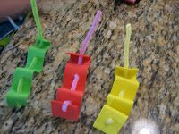 Ramblings of a Crazy Woman: Inch Worm Craft for Kids