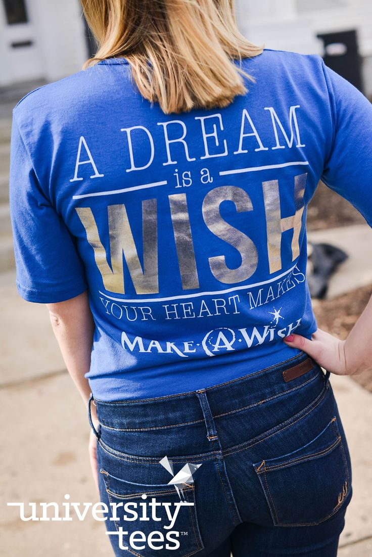 a dream is a wish your heart makes | Chi Omega | Made by University Tees | universitytees.com