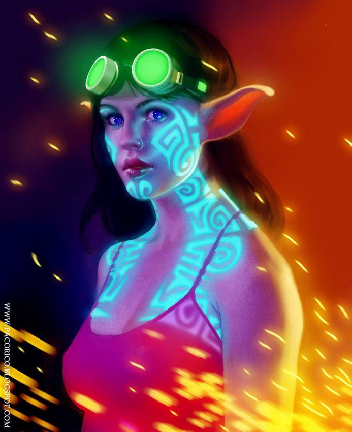 I can't get over how beautiful this illustration is. mancomb-seepwood.deviantart.com