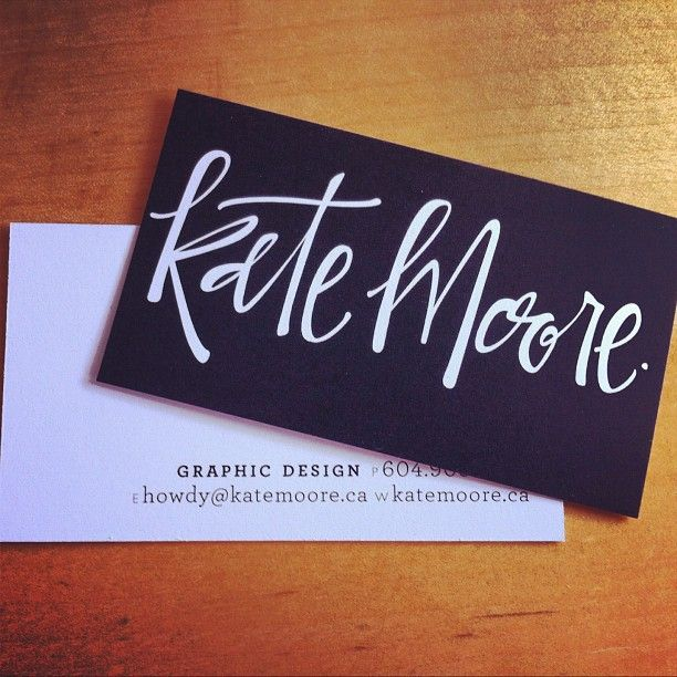 Is it bad to pin my own biz cards? Just still love the calligraphy by @Justine Ma