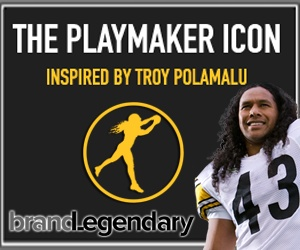 Exclusive video of the Playmaker Icon, Troy Polamalu at his recent fundraiser for the Harry Panos Foundation and the Troy Polamalu Football Camp.  Watch and listen to the wisdom of Troy Polamalu.
