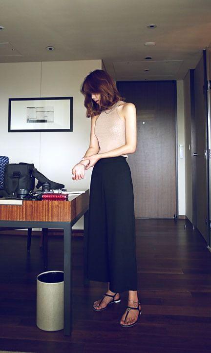 画像 : 連れて歩きたいガウチョパンツの女♡2015春夏♡デート 合コン 仕事もOK! - NAVER まとめ