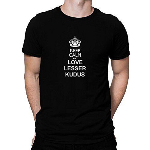 Teeburon Keep calm and love Lesser Kudus T-Shirt …