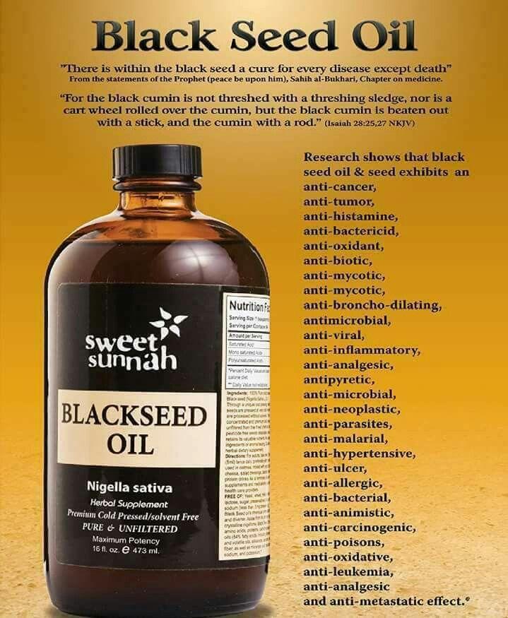 Black seed oil | Health | Natural health remedies, Health