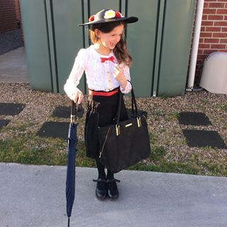 This magical Mary Poppins. | 24 Parents Who Are Totally Nailing Book Week…