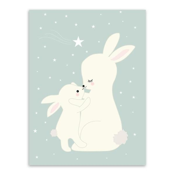 Affiche A4 /_Bunny Moon/_