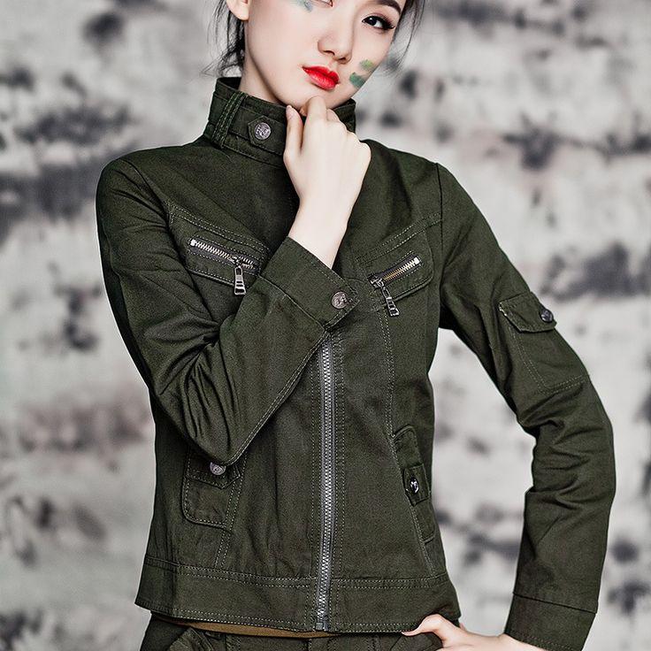 Aliexpress.com: Comprar Alta calidad! 2015 otoño nuevas mujeres camuflaje…