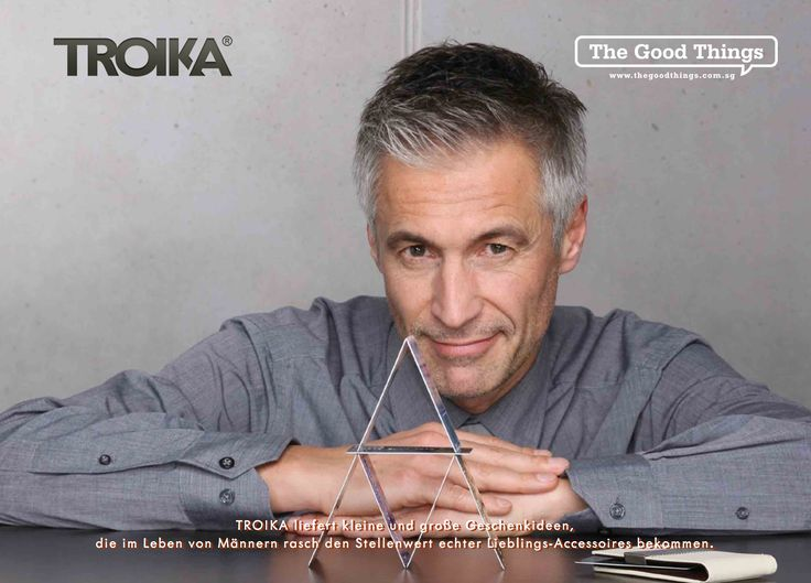 TROIKA - For the creative and young at heart.    At TROIKA, we are loyal, innovative and friendly. We nurture apprentices for the art of creating products that are both innovative and brilliant, with exceptional quality for the modern men.    #tgt #thegoodthings #troika