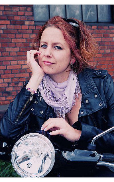Portrait Luna & the Vespa LX 50 by Baltic Light Photography on Flickr.