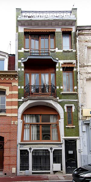 8 best images about lille art nouveau on pinterest cas for Decoration maison lille