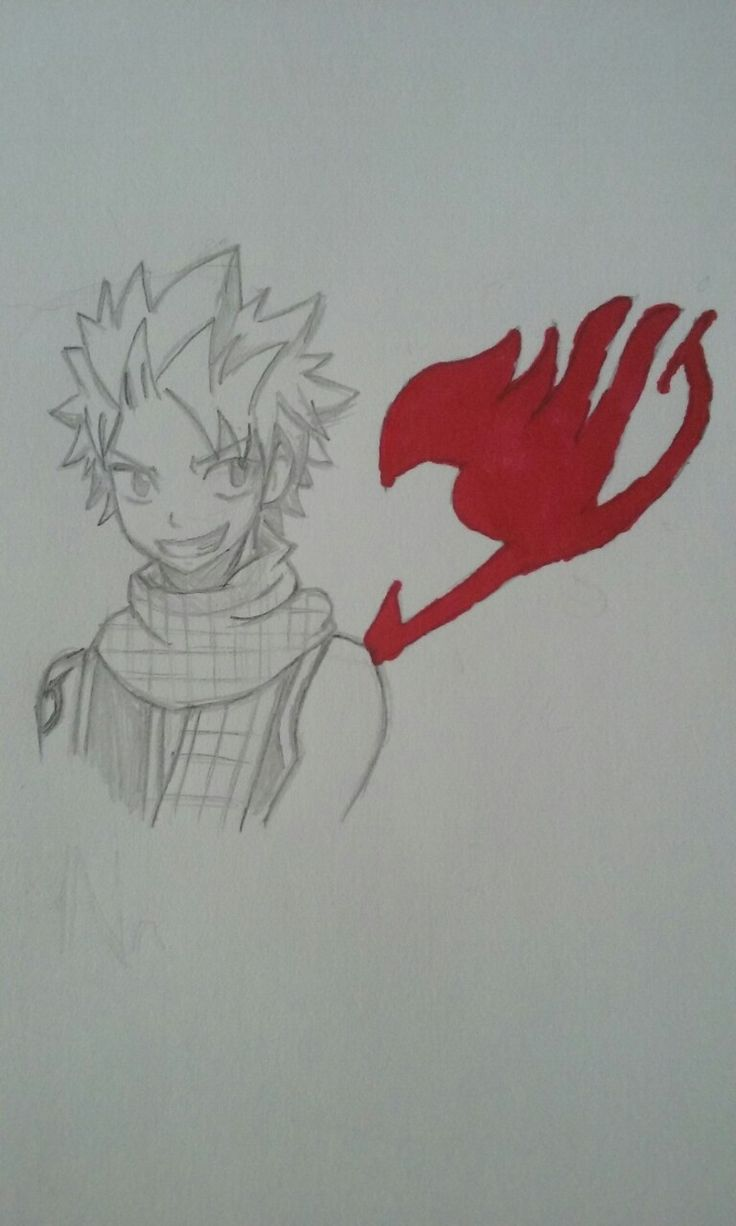 Natsu Dragneel from the anime Fairy Tail.