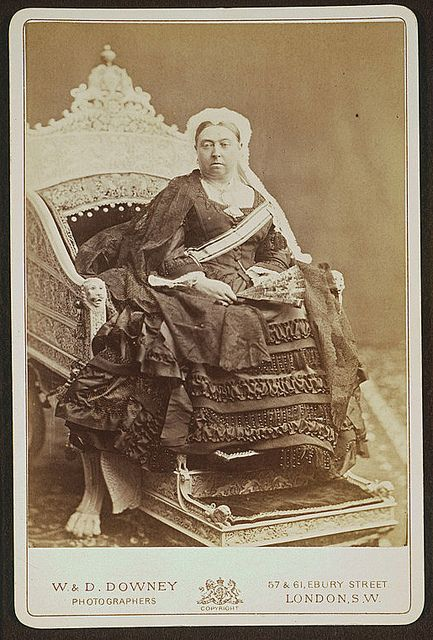 Empress of India, official portrait.