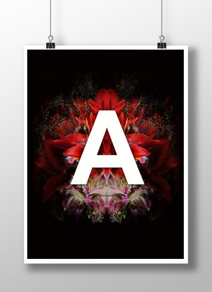 Plakat/Poster_Alfabet – A