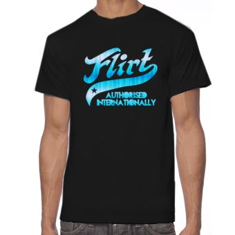 Creative FLIRT - AUTHORISED INTERNATIONALLY Tshirt