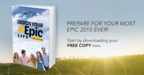 We spend so much time planning a holiday or a birthday, but so little to plan our own life. Take the time now to make it a reality, get you free copy of Design Your #EpicLife now http://bit.ly/1aYHSjR