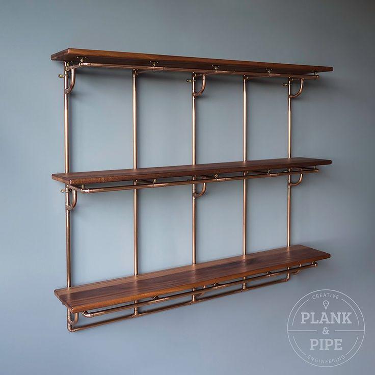 Pipe Shelf Kitchen: The 25+ Best 15mm Copper Pipe Ideas On Pinterest