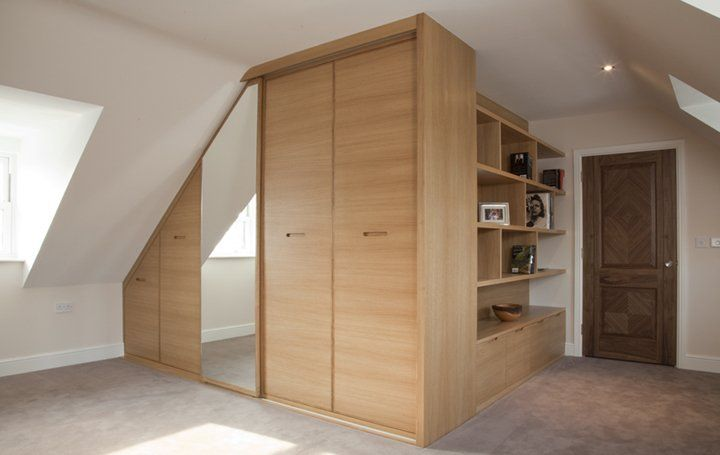 Concealed Bathroom Behind A Wardrobe S Sliding Door