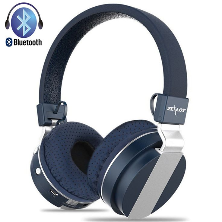 Zealot B17 Bluetooth 4.1 HiFi Headsets Stereo Wireless Casque Bluetooth Headphones Audifonos with Microphone FM TF Card Solt