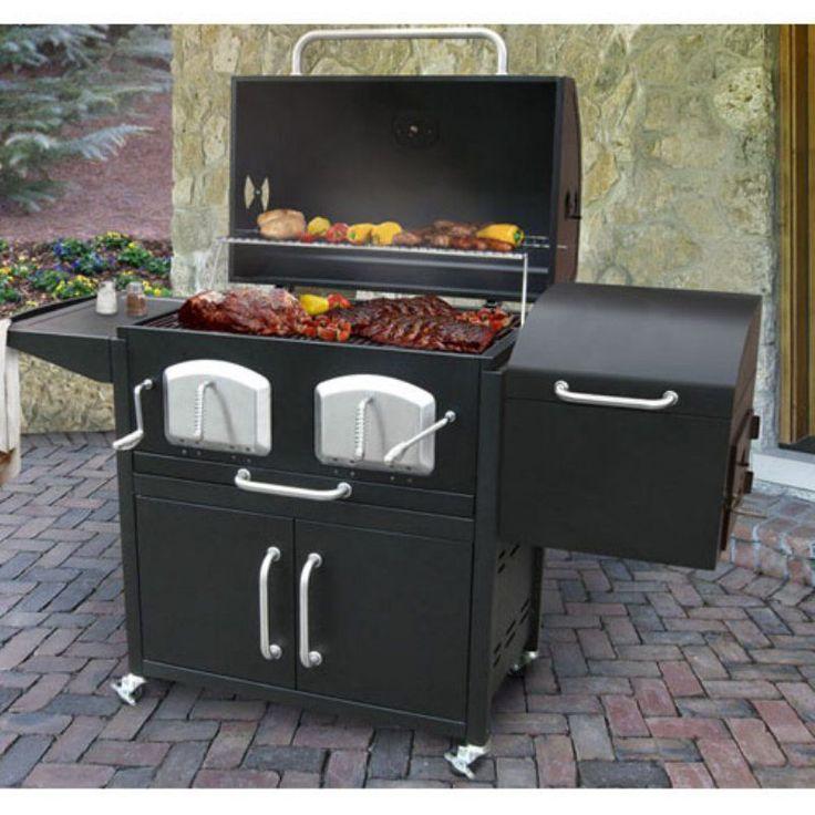Landmann Bravo Premium Charcoal Grill and Smoker - 591320 #SmokerGrilling
