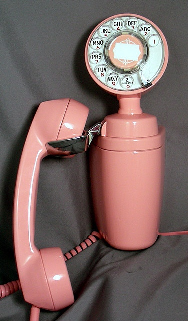 vintage wall phone by giselaandzoe, via Flickr
