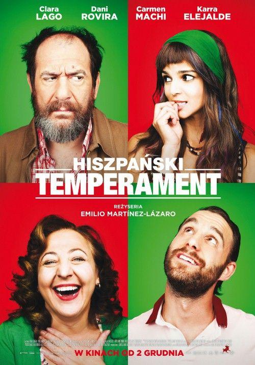 hiszpanski temperament plakat