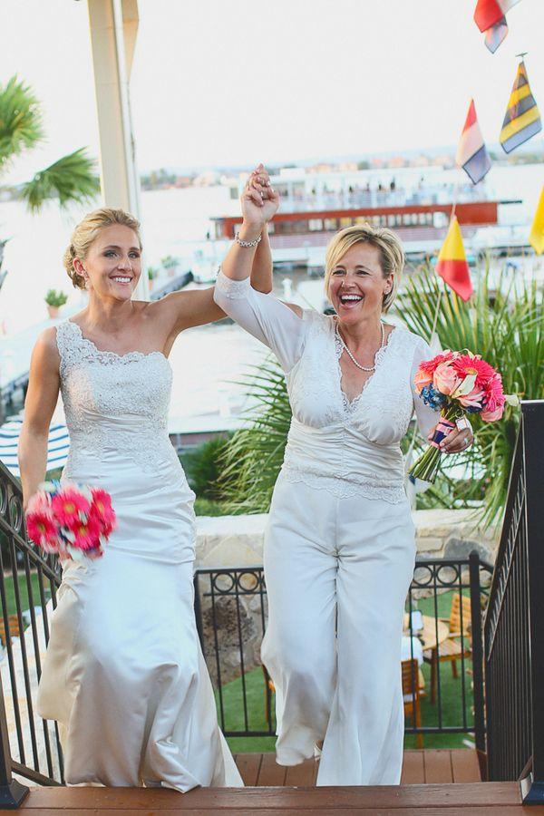 8 Perfecte style match tips voor een lesbische bruiloft   In White