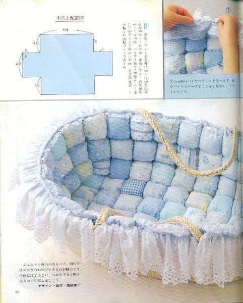 Сшить одеяло для новорожденного видео