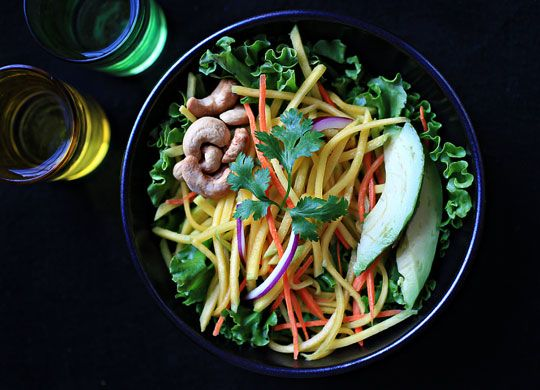 Cool Recipe: Thai Green Mango Salad