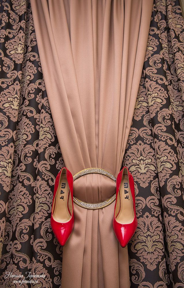 #shoes #curtains #idea #wedding