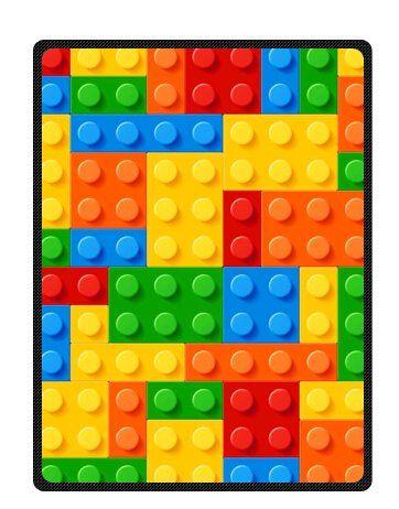 "Treasure Design Discount Lego Bricks Blanket 58"" x 80"" (Large) LEGO http://www.amazon.com/dp/B00V4LUVKS/ref=cm_sw_r_pi_dp_oX90vb0NSVWEN"