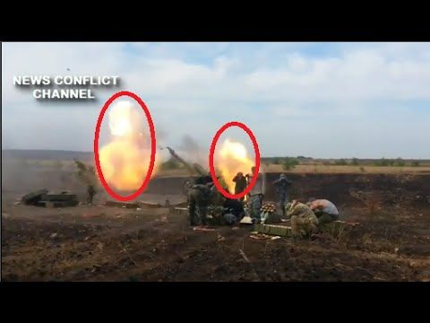 Ukraine War Military • Ukrainian Militia Shooting With Cannon : News