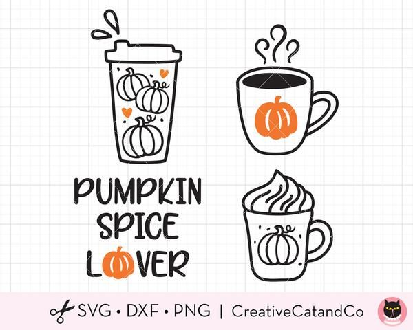 32+ Pumpkin Spice For Lifesvg And Dxf Cut File Image