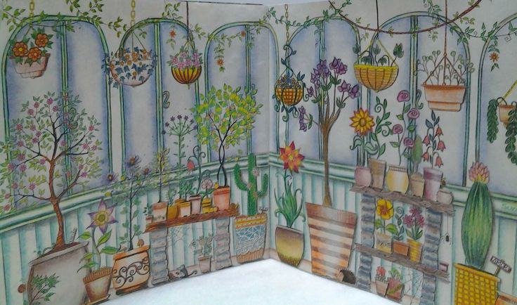 17 Best Images About Coloring Greenhouse On Pinterest