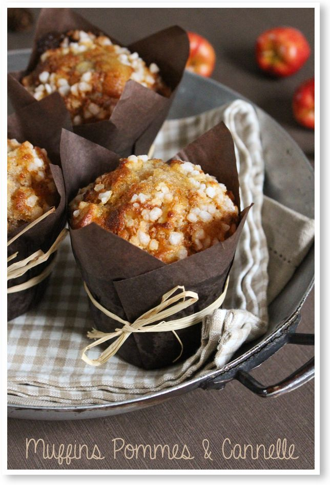 Muffins pommes & cannelle
